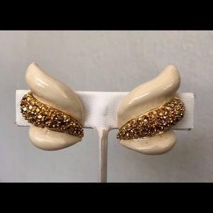 Vintage St John Clip Earrings
